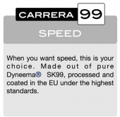 CORDE PERFORMANCE CARRERA 99R