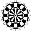 BLASONS DART 60CM (PAR10)